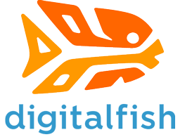 DigitalFish, Inc.'s logo