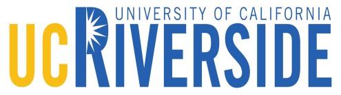 University of California, Riverside's logo