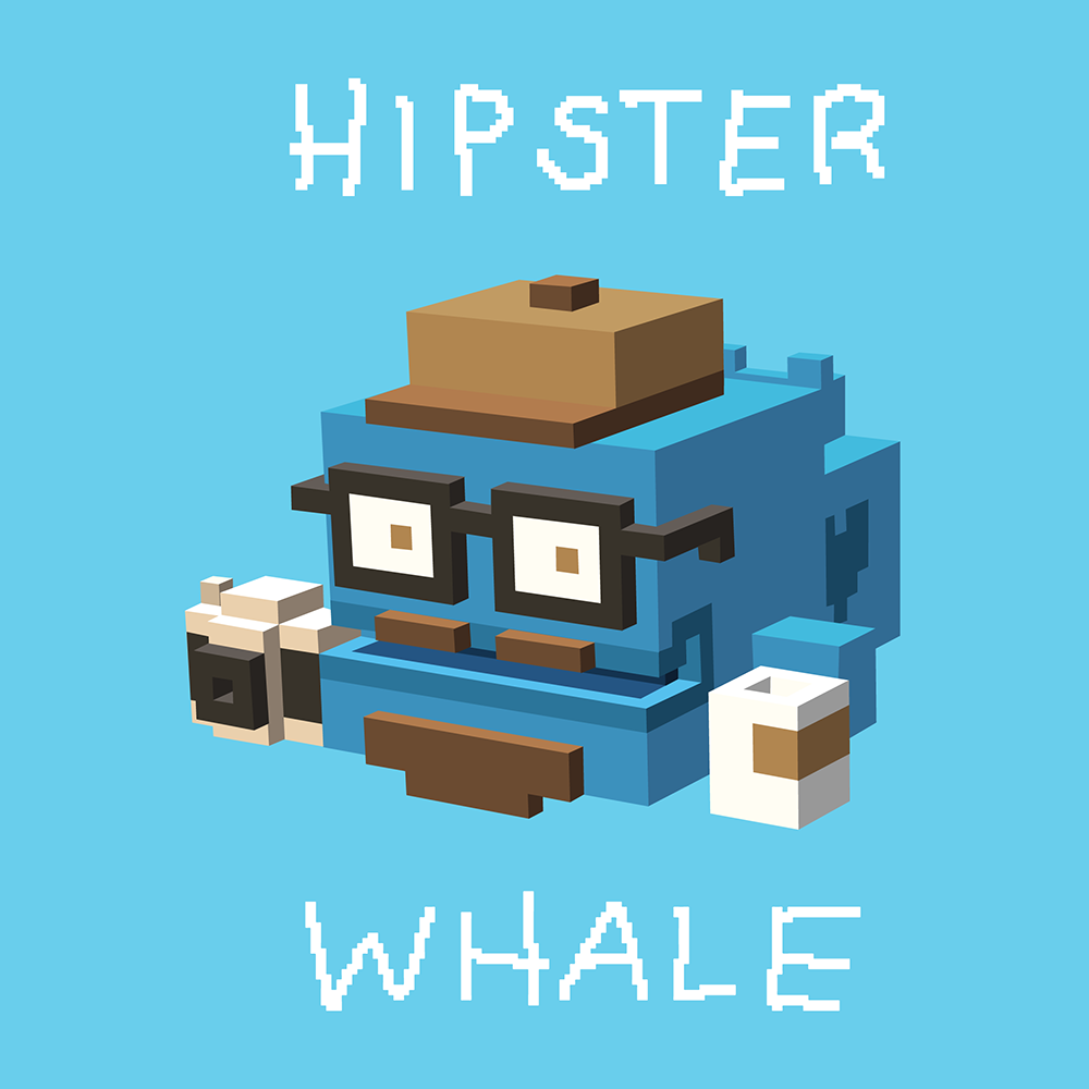 Hipster Whale